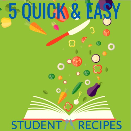 student recipes